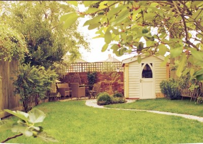 Garden Landscape & Shed |Woodfield Builders